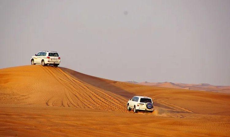 cars on Desert Safari