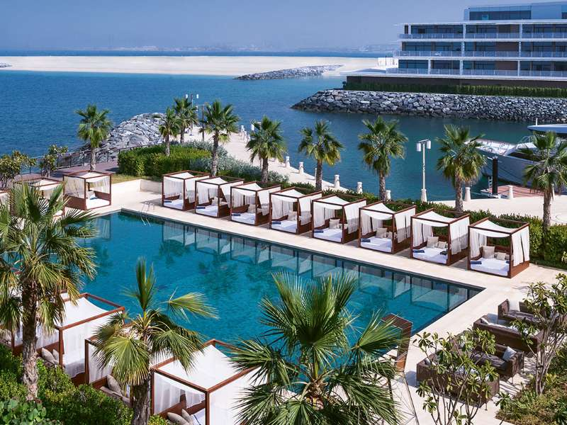 hotels with private pool