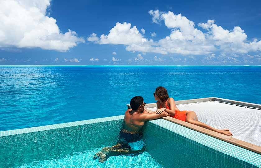 hotels with private pool in dubai